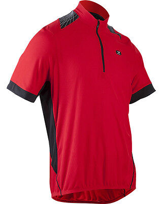 New Sugoi Neo Pro Men Cycling Jersey Bike Bicycle Top 3 Pockets Chili Red Large