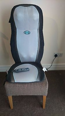 Homedics Gel Shiatsu 2 in 1 Massager w/Heat (Back and Shoulder)