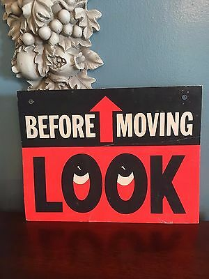 Vintage Caution Sign from Bell Telephone