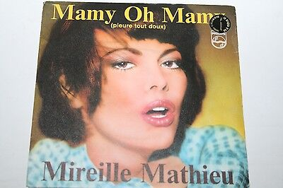 """Mireille Mathieu - Mamy Oh Mamy - 7"""" Philips"""