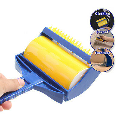 ASLT High Quality Rubber Sticky Picker Cleaner Reusable Catcher Roller Built-...