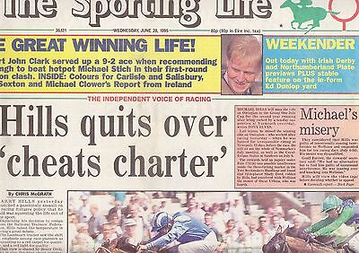 The Sporting Life Newspaper - Wednesday June 28, 1995