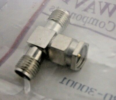 SV Microwave / Amphenol M55339/30-30001 RF MIL Spec Connectors SMA Adapter