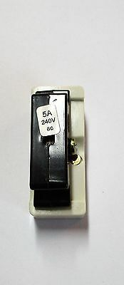Wylex C5 5Amp Cartridge Fuse Carrier & Base C/W Fuse  New