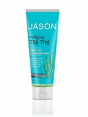 JASON ORGANIC PURIFYING TEA TREE GEL- PURE NATURAL -FIRST AID SOOTHING GEL 113g