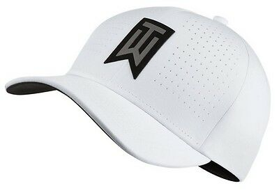 Nike Golf Mens Tiger Woods TW AeroBill Classic99 Golf Hat White 845579 Pick Size