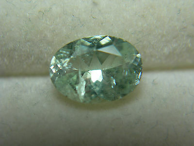 very rare MINT GREEN Kornerupine gem Tanzania natural Gemstone oval stone