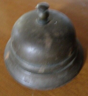 Vintage Old Metal Crafted Service Bell Front Desk Lobby Business Hotel
