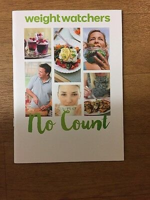 Weight watchers( no count ) 2017 plan booklet New  simple start Free Postage Uk