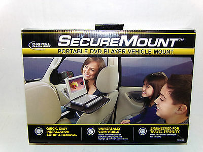 NEW! Digital Innovations Secure Mount Laptop Portable DVD Player Vehicle Car