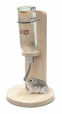 Living World Freestanding Pet Cage Water Bottle Stand Hamster Gerbil Rat Rabbit