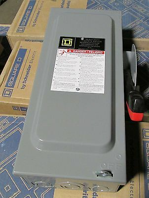 Square D 30 Amp Safety Switch Disconnect - H321N  - New In Box - NIB