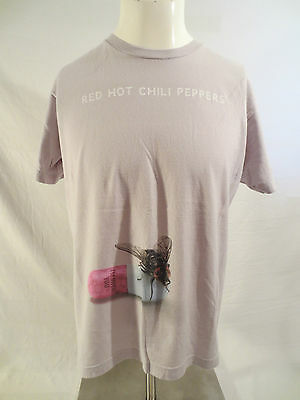 Red Hot Chili Peppers Shirt Large 2012 Tour Gray 2 Sided I'm With You