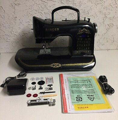 RARE Singer 160 Anniversary Limited Edition Computerized Sewing Machine
