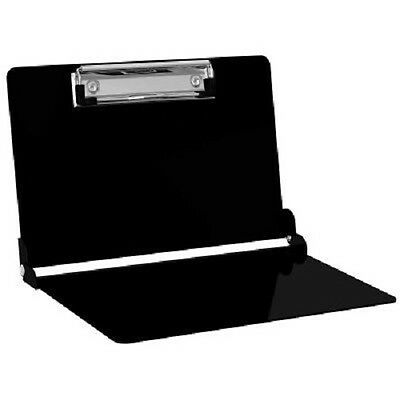 ISO Clipboard Lightweight Aluminum Folding Medical Edition-in BLACK
