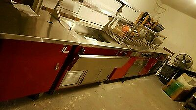 Delfield 5 Piece Electric Food Serving Line