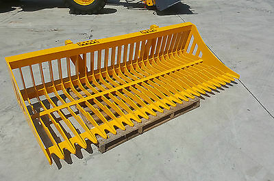 Tractor Rock Bucket, Sieve Bucket - New suits all Euro Hitches