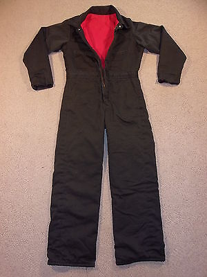 #2734, Youth Boy's Unbranded Quilted Insulated Winter Coveralls, Youth Large