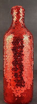 Absolut Vodka Rainbow Pride Gay Interest Ruby Slippers Sequin Bottle Cover Gift