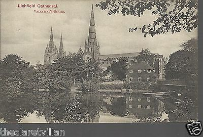 Lichfield Cathedral  c. 1904 Unposted Postcard