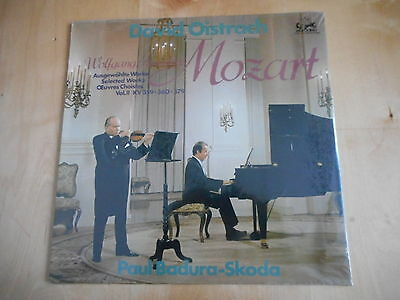 MOZART Selected Works DAVID OISTRACH / BADURA- SKODA LP  MINT still sealed