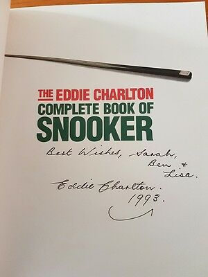 EDDIE CHARLTON - HAND SIGNED 1992 S/C Book - 1st Edition