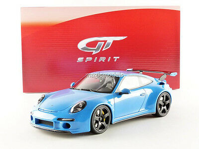 GT Spirit 2015 Porsche RUF 911 991 RTR Coupe Blue LE of 991 1/18 New! In Stock!