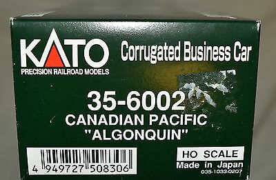 """Used KATO # 35-6002 CP Canadian Pacific """"Algonquin"""" corrugated business car"""