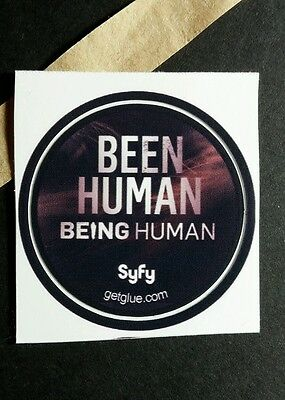 "Being Human Been Human Alive Ghost Show Tv Photo Sm 1.5""  Get Glue Sticker"