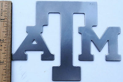 Texas A&M Logo Cutout Plaque Sheet Metal Gig Em Aggies - Wholesale Lots