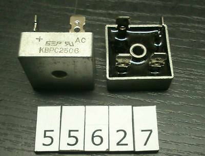SEP KBPC2506 25A600V single phase bridge rectifier Lot-2pcs