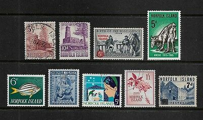 NORFOLK ISLAND - mixed pre-decimal collection, incl Christmas, surch & opt