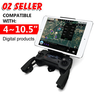 "4-12"" iPad Tablet Phone Extended Bracket Mount Holder DJI MAVIC PRO Spark Drone"