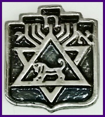 israel Association of Jewish Soldiers lapel pin badge