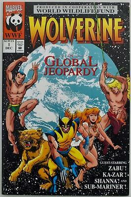 Wolverine in Global Jeopardy - Issue # 1 - Marvel - 1993 - NM/VF (2845)