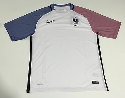 MAILLOT FOOT France  Football BLANC TAILLE XL NEUF NEW