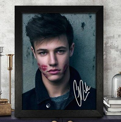 Cameron Dallas Autographed Signed Photo 8x10 Reprint RP PP [Expelled]