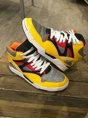 Reebok Pump Omni Lite Voltron Yellow Limited Edition Size 10.5Uk
