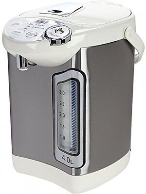 4L Stainless Steel Electric Hot Water Dispenser w/ Auto Feed Boiler Warmer