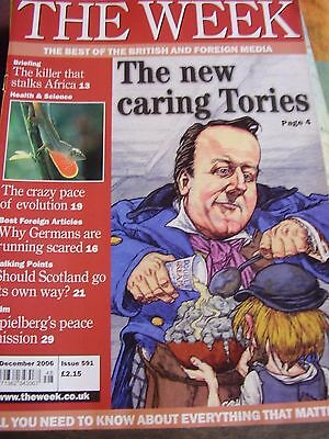 The Week December 2006 The New Caring Tories The Killer That Stalks Africa