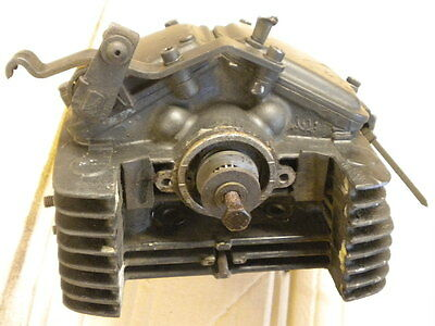 Rotax Ccm 500 560 604 Cylinder Head Complete With Valves Good Condition