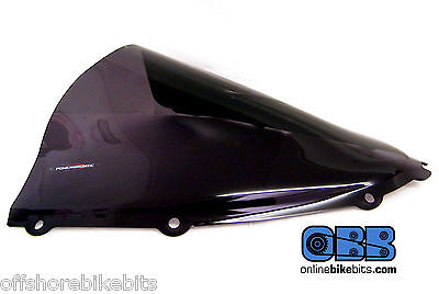 Powerbronze Kawasaki ZZR1400 / ZX14-R 2006-2016 Double Bubble Dark Tint Screen