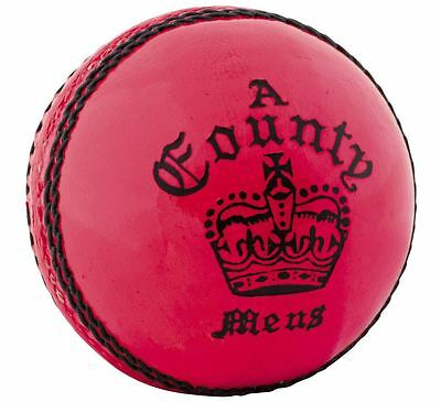 Readers County Crown Womens Leather Pink Cricket Ball Size 5oz