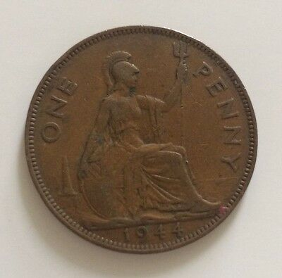 1944 One Penny King George VI - UK Coin