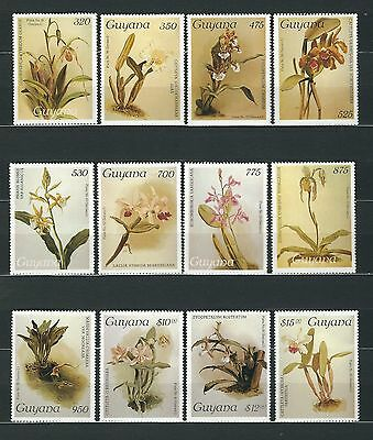 Guyana Stamps : 320 to $15.00 Orchids from Reichenbachia 1989 - Series 2 - MNH