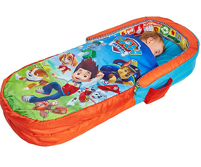 2 in 1 Paw Patrol Toddler Airbed Sleeping Bag Portable Inflatable Boys Children
