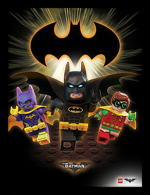 Lego Batman Movie - Heroes Into Action - 30 x 40cm Framed Poster Print FP11955P
