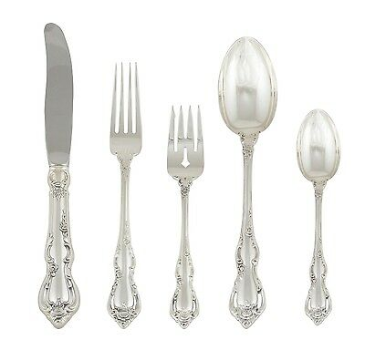 Spanish Provincial Flatware- 2 Spoons, 2 Forks and 1 Knife by Towle