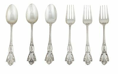 Beauvoir Tuttle Flatware- 3 Spoons and 3 Forks