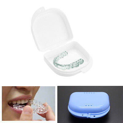 Biteguards Guard False Teeth Dentures Dental Retainer  Box Storage Boxs